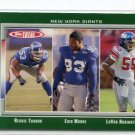 LaVAR ARRINGTON 2006 Topps Total #336 Penn State New York NY Giants