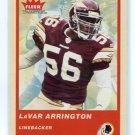 LaVAR ARRINGTON 2004 Fleer Tradition #196 Penn State REDSKINS