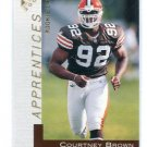 COURTNEY BROWN 2000 Topps Gallery Apprentices #157 ROOKIE INSERT Penn State BROWNS