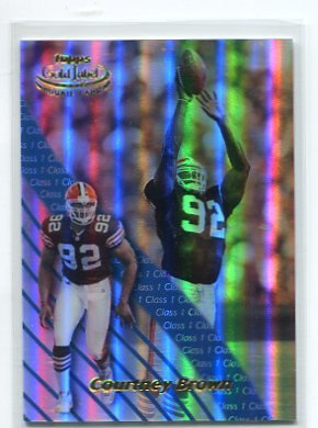 COURTNEY BROWN 2000 Topps Gold Label Class 1 #87 ROOKIE Penn State BROWNS
