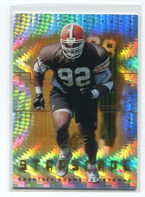COURTNEY BROWN 2000 SPx Starscape #RS2 ROOKIE INSERT Penn State BROWNS
