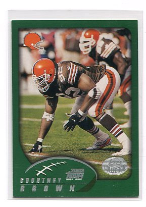 COURTNEY BROWN 2002 Topps #57 Penn State BROWNS
