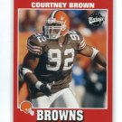 COURTNEY BROWN 2001 Upper Deck UD Vintage #45 Penn State BROWNS