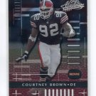 COURTNEY BROWN 2001 Playoff Absolute #22 Penn State BROWNS
