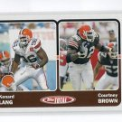 COURTNEY BROWN 2003 Topps Total #382 Penn State BROWNS