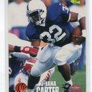 Ki-JANA CARTER 1995 Classic Draft #67 ROOKIE Penn State BENGALS