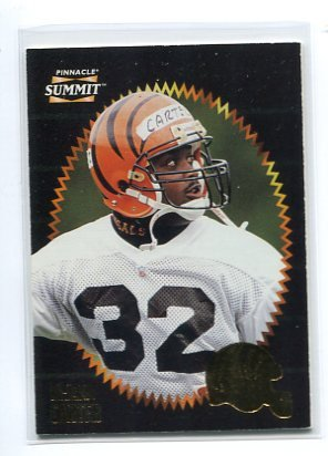 Ki-JANA CARTER 1995 Pinnacle Summit #10 ROOKIE Penn State BENGALS