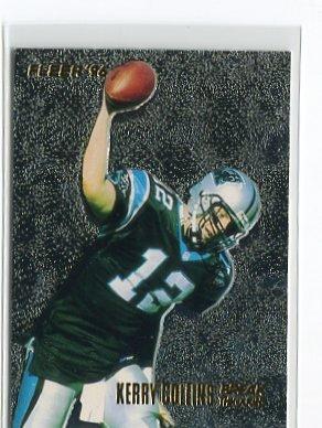 KERRY COLLINS 1996 Fleer Break Throughs #6 INSERT Penn State CAROLINA Panthers QB
