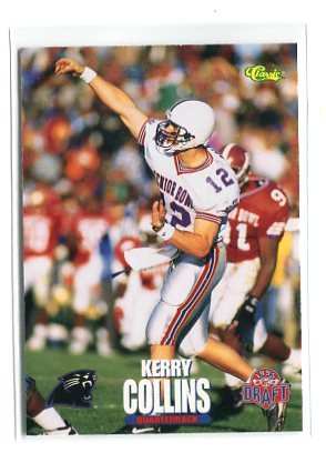 KERRY COLLINS 1995 Classic Draft #68 ROOKIE Penn State CAROLINA Panthers QB