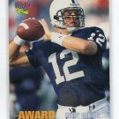 KERRY COLLINS 1995 Classic Draft #104 ROOKIE Penn State CAROLINA Panthers QB