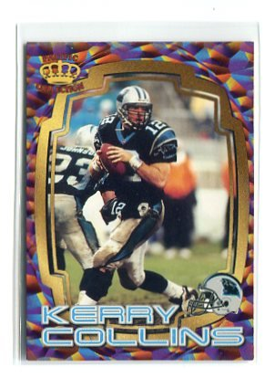 KERRY COLLINS 1997 Pacific Best Kept Secrets #35 INSERT Penn State CAROLINA Panthers QB