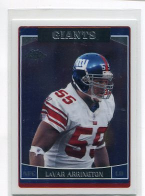 LaVAR ARRINGTON 2006 Topps Chrome #149 Penn State New York NY Giants