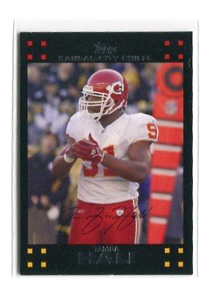 TAMBA HALI 2007 Topps #258 Penn State Kansas City KC CHIEFS