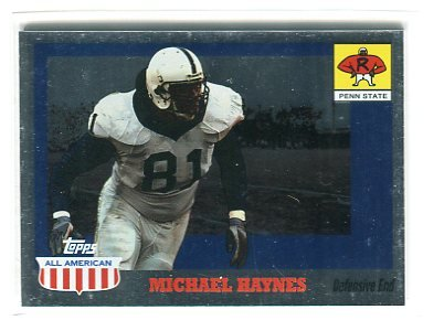 MICHAEL HAYNES 2003 Topps All-American FOIL #111 ROOKIE Penn State BEARS