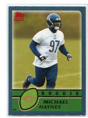 MICHAEL HAYNES 2003 Topps #313 ROOKIE Penn State BEARS
