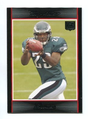 TONY HUNT 2007 Bowman #132 ROOKIE Eagles PENN STATE Rookie