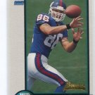 JOE JUREVICIUS 1998 Bowman #23 ROOKIE Penn State Nittany Lions NEW YORK NY Giants