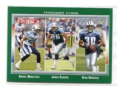 RICH GARDNER 2006 Topps Total #397 Penn State Nittany Lions TITANS