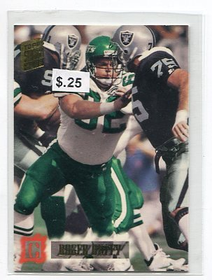 ROGER DUFFY 1994 Topps Stadium Club #478 Penn State Nittany Lions NY JETS