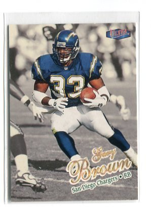 GARY BROWN 1998 Fleer Ultra GOLD MEDALLION #94G Penn State Nittany Lions CHARGERS