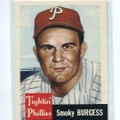 SMOKY BURGESS 1991 Topps Archives 1953 Ultimate Series #10 Philadelphia Phillies