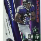RAY RICE 2010 Panini Adrenalyn SPECIAL SP #S6 Rutgers RAVENS
