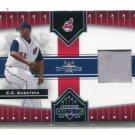 C.C. CC SABATHIA 2005 Donruss Champions Impressions #118 JERSEY Indians NEW YORK NY Yankees