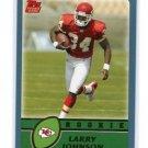 LARRY JOHNSON 2003 Topps #365 ROOKIE Penn State KC CHIEFS