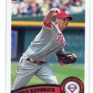 KYLE KENDRICK 2011 Topps #341 Philadelphia Phillies