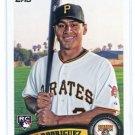 JOSH RODRIGUEZ 2011 Topps #563 ROOKIE Pirates