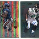 BOBBY ENGRAM / MICKEY WASHINGTON 1997 Topps Stadium Club Co-Signers AUTO Penn State BEARS