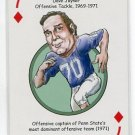 DAVE JOYNER 2008 Penn State Hero Decks Playing Card OT 1969-71