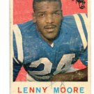 LENNY MOORE 1959 Topps #100 Baltimore Colts PENN STATE Nittany Lions
