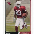 BRYANT JOHNSON 2003 Topps Total #538 ROOKIE Penn State CARDINALS