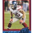 KAWIKA MITCHELL 2007-2008 Topps Super Bowl XLII Commemorative #17 New York NY Giants