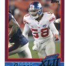 ANTONIO PIERCE 2007-2008 Topps Super Bowl XLII Commemorative #16 New York NY Giants