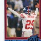 SAM MADISON 2007-2008 Topps Super Bowl XLII Commemorative #18 New York NY Giants LOUISVILLE