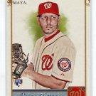 YUNESKY MAYA 2011 Topps Allen and Ginter A&G Crack the Code #172 ROOKIE Washington NATIONALS