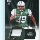 BILAL POWELL  2011 Topps 2-color JERSEY PATCH ROOKIE INSERT New York NY Jets LOUISVILLE Cardinals RB