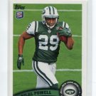 BILAL POWELL 2011 Topps #143 ROOKIE New York NY Jets LOUISVILLE Cardinals RB