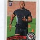 Da'QUAN BOWERS 2011 Topps #397 ROOKIE TB Bucs CLEMSON Tigers