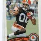 GREG LITTLE 2011 Topps #321 ROOKIE Browns NORTH CAROLINA Tarheels WR