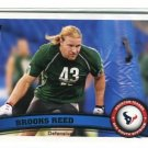 BROOKS REED 2011 Topps #29 ROOKIE Texans ARIZONA WILDCATS