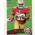 KENDALL HUNTER 2011 Topps #155 ROOKIE 49ers OKLAHOMA STATE Cowboys RB