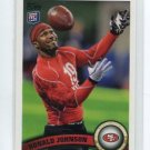 RONALD JOHNSON 2011 Topps #412 ROOKIE 49ers USC Trojans