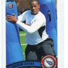 AKEEM AYERS 2011 Topps #41 ROOKIE Titans UCLA BRUINS LB