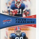 MARCELL DAREUS / CJ SPILLER 2011 Topps The Franchise ROOKIE INSERT Bills ALABAMA Clemson