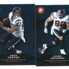 ANDRE JOHNSON  2011 Topps Town INSERT Texans MIAMI CANES Hurricanes