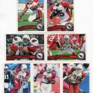 (7) Arizona CARDINALS 2011 Topps Team Lot NO DUPES