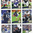 (13) Baltimore RAVENS 2011 Topps Team Lot NO DUPES